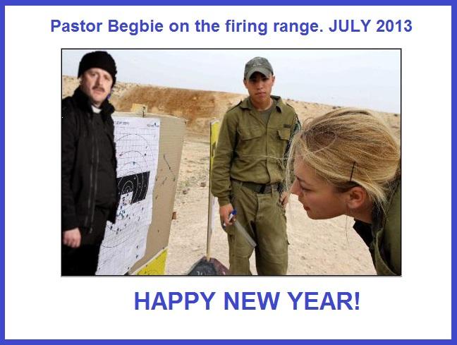 Pastor Begbie July 2013