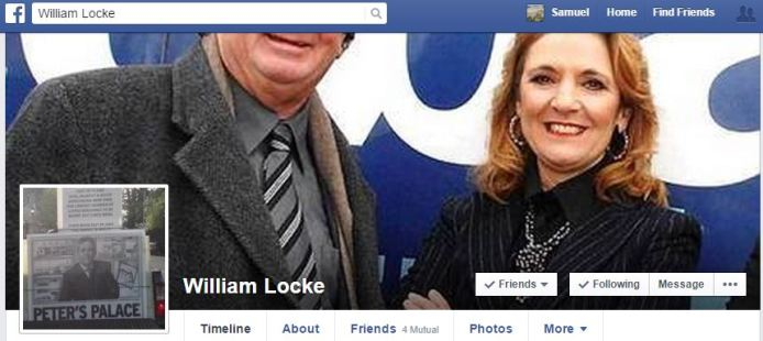 William Locke Facebook Page
