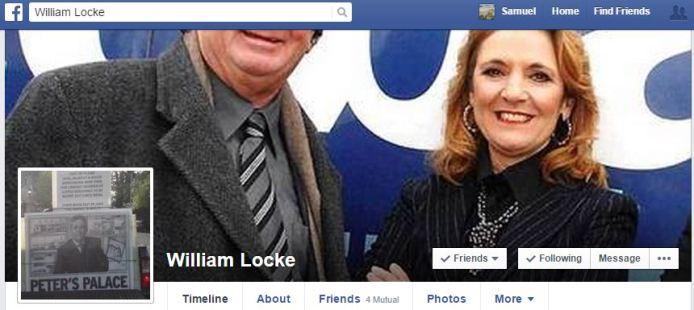 William Locke Facebook Page