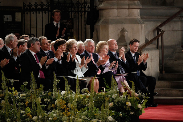 Hague and co clapping the Antichrist