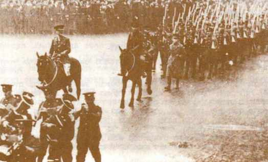 Patterson with the Jewsih Legion in London 1918.