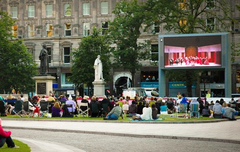 belfast-Big screen1