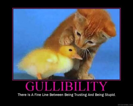 gullibility