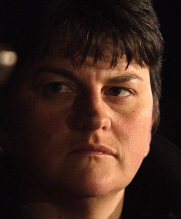 Acting Northern Ireland First Minister Arlene Foster from the DUP