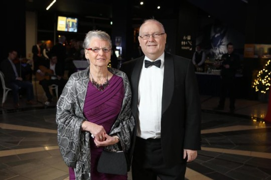 Press Eye - Belfast - Northern Ireland - 29th November 2012 - Pushkin Trust at Titanic Belfast Yvonne and Frank Cushnahan