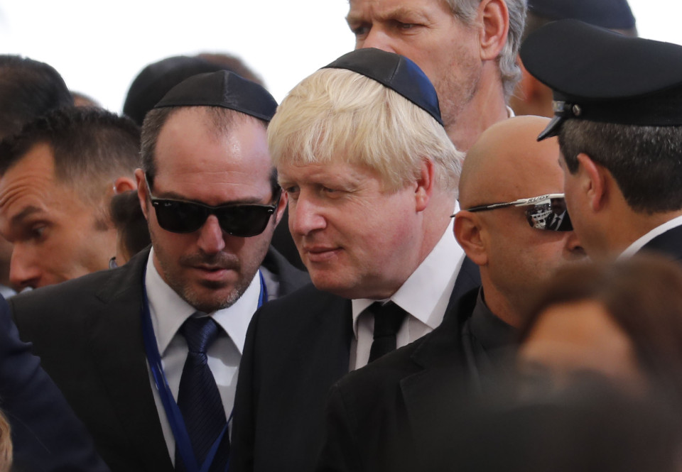 British Foreign Minister Boris Johnson a