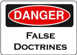 FalseDoctrineWarningSign
