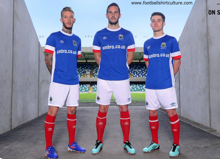 linfield_2016_17_umbro_home_kit